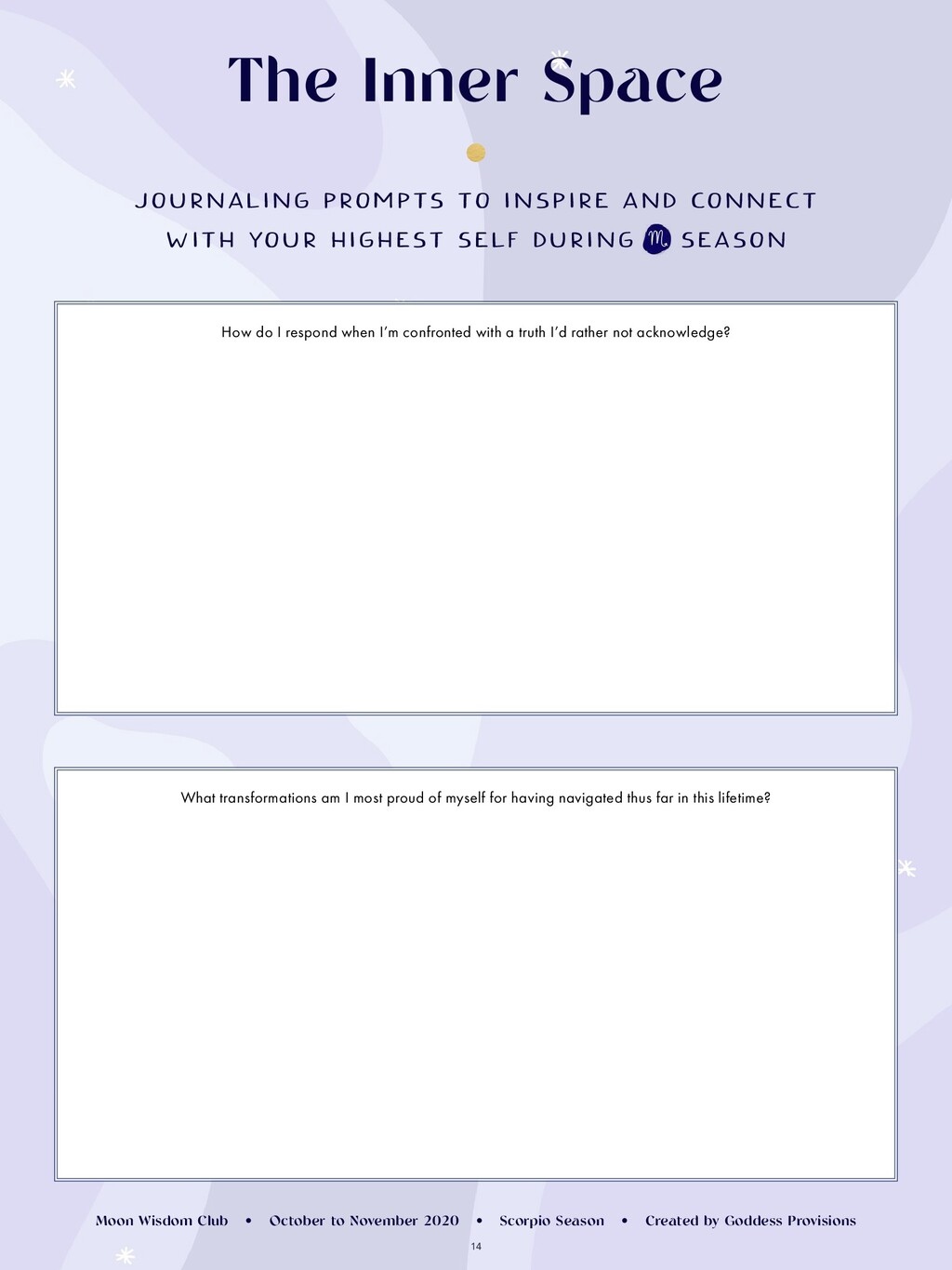 14 JOURNALING PROMPTS TO INSPIRE AND CONNECT WI...