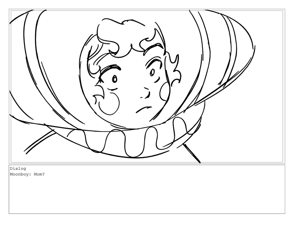 Dialog Moonboy: Mom?