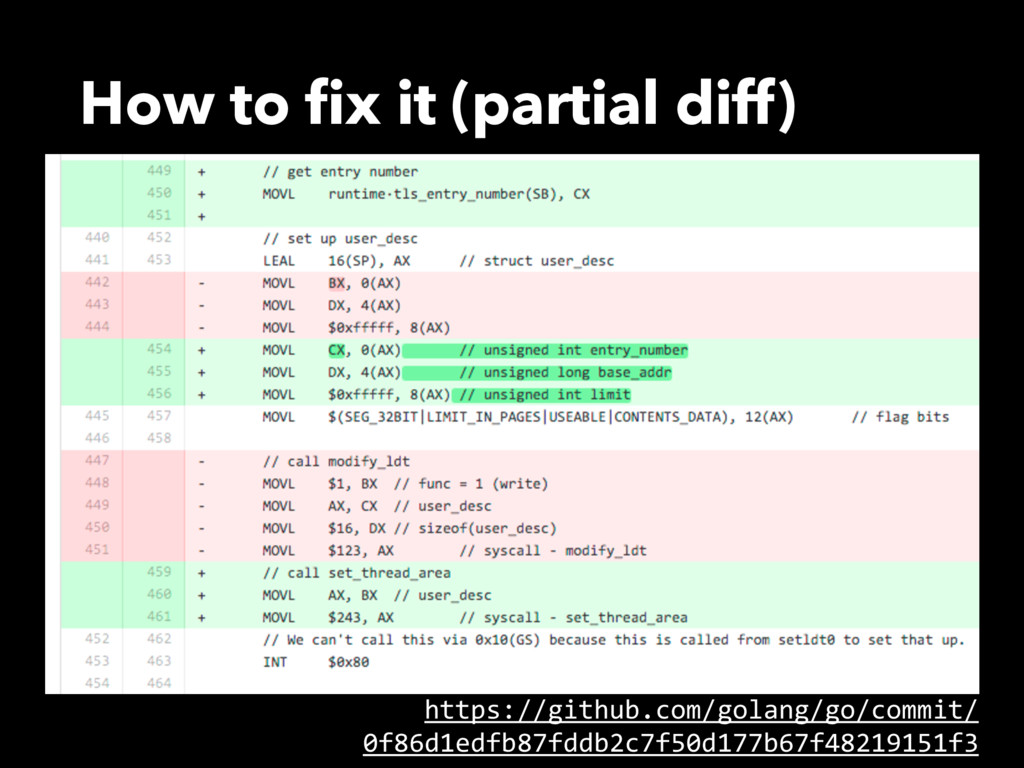 How to fix it (partial diff) https://github.com/...