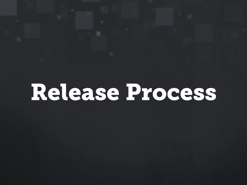 Release Process