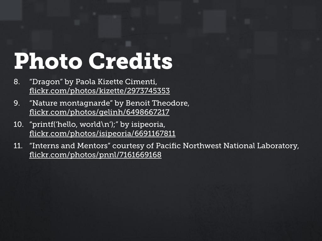 """Photo Credits 8. """"Dragon"""" by Paola Kizette Cime..."""