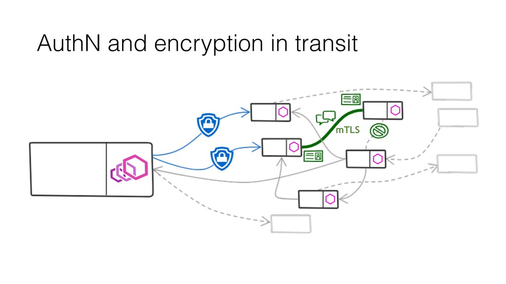 AuthN and encryption in transit mTLS