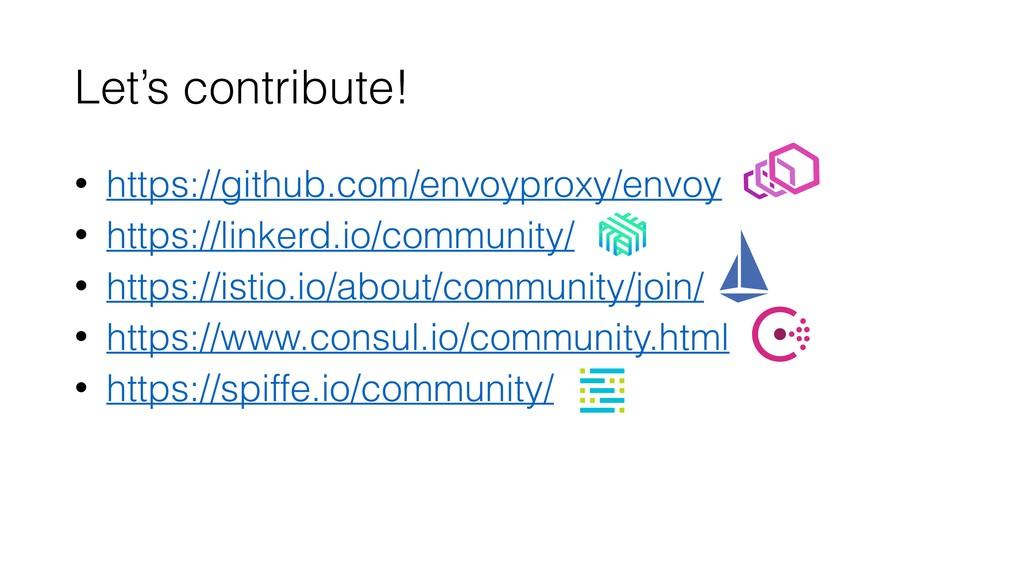 Let's contribute! • https://github.com/envoypro...