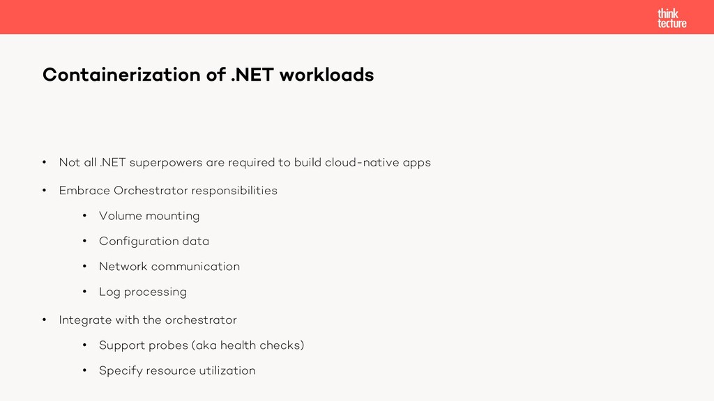 • Not all .NET superpowers are required to buil...