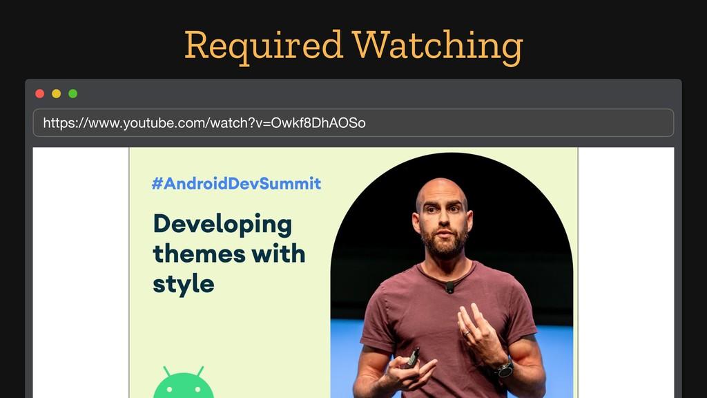 Required Watching https://www.youtube.com/watch...
