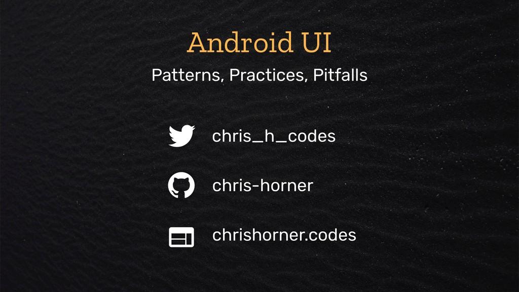 chris_h_codes chris-horner chrishorner.codes An...