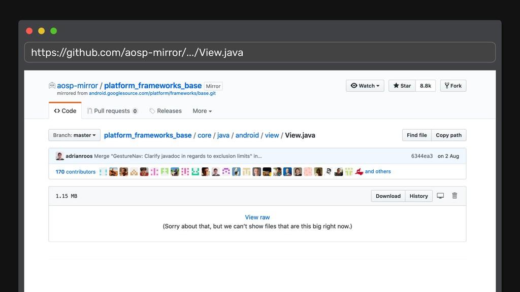 https:/ /github.com/aosp-mirror/.../View.java
