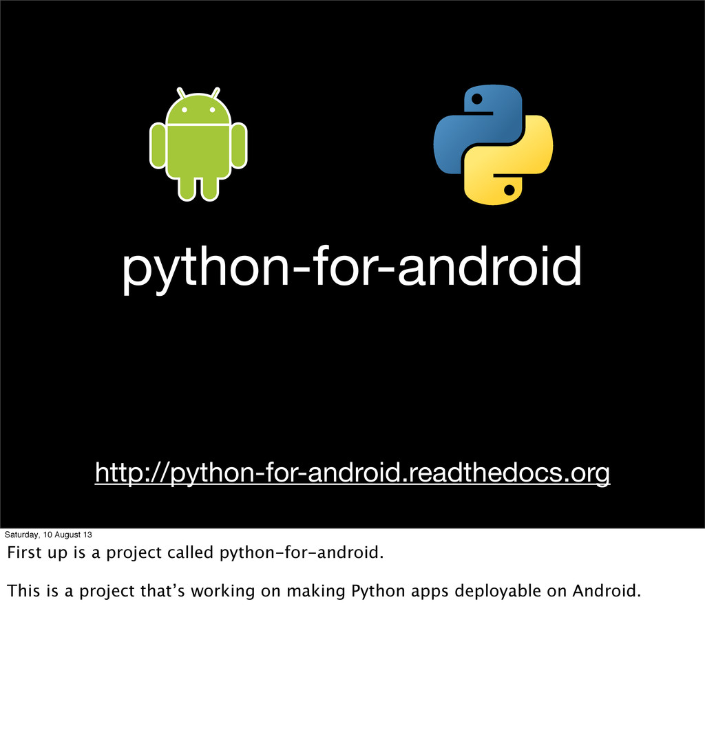 python-for-android http://python-for-android.re...