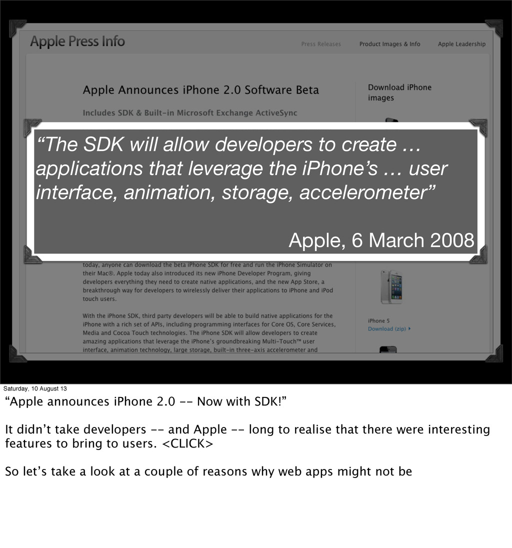 """The SDK will allow developers to create … appl..."