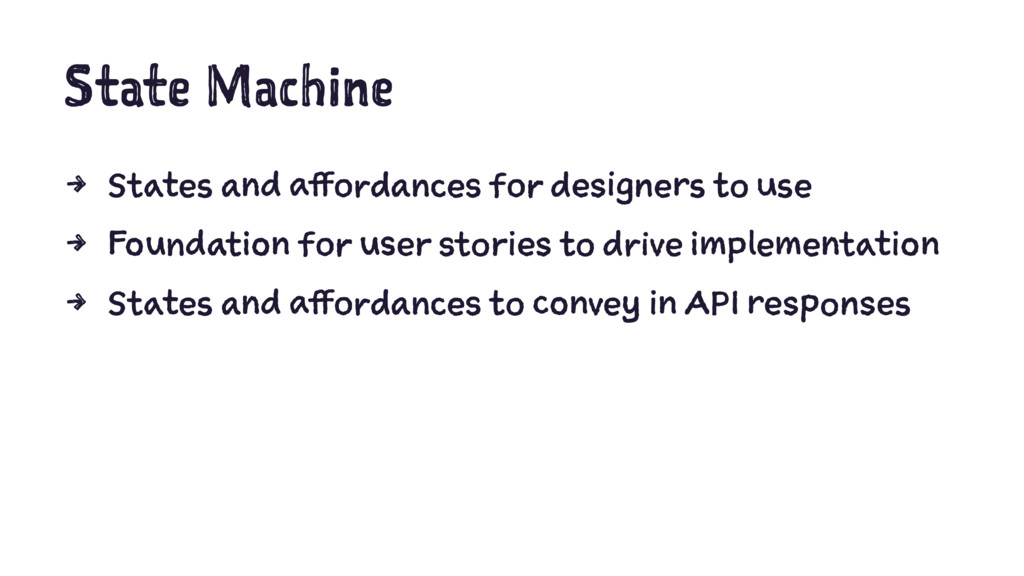 State Machine 4 States and affordances for desi...