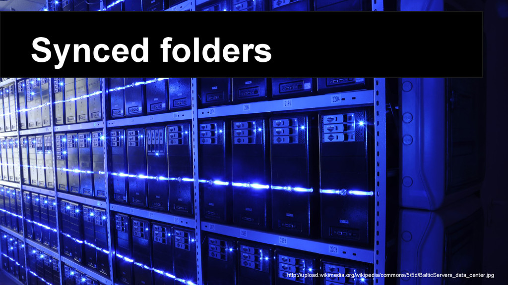 Synced folders http://upload.wikimedia.org/wiki...