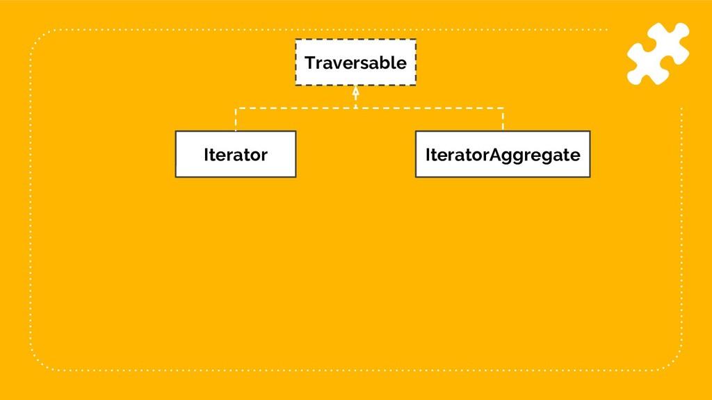16 Traversable Iterator IteratorAggregate
