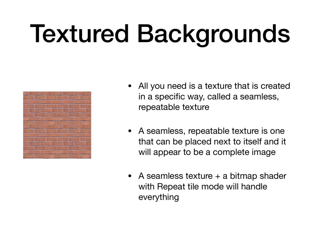 Textured Backgrounds • All you need is a textur...