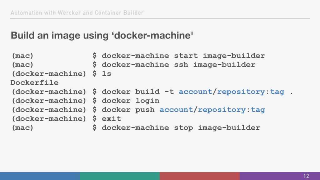 Automation with Wercker and Container Builder B...