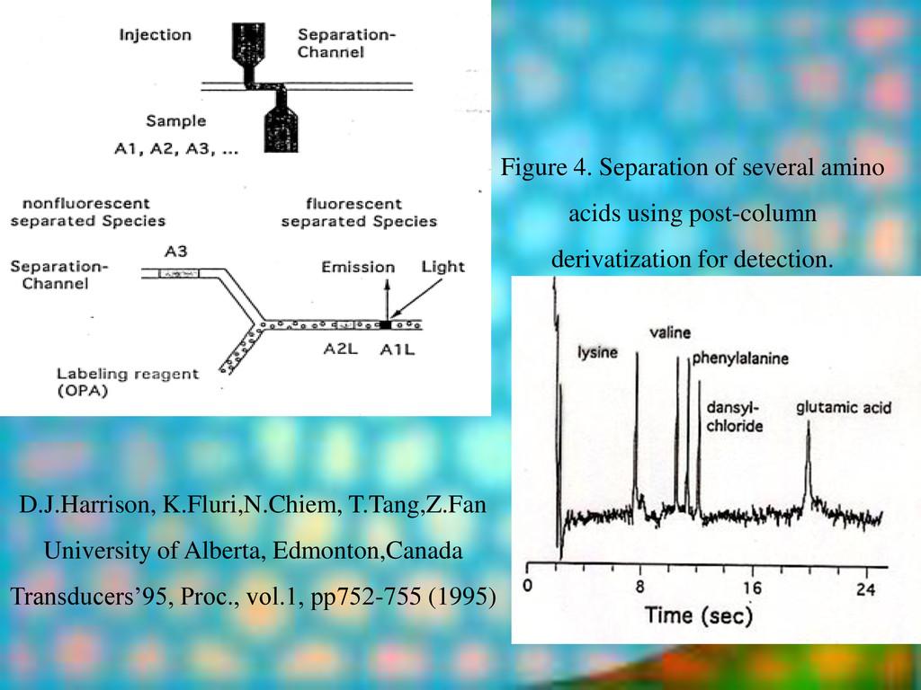 Figure 4. Separation of several amino acids usi...