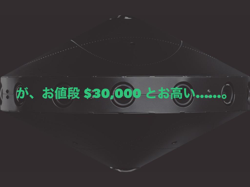 ͕ɺ͓ஈ $30,000 ͱ͓ߴ͍……ɻ
