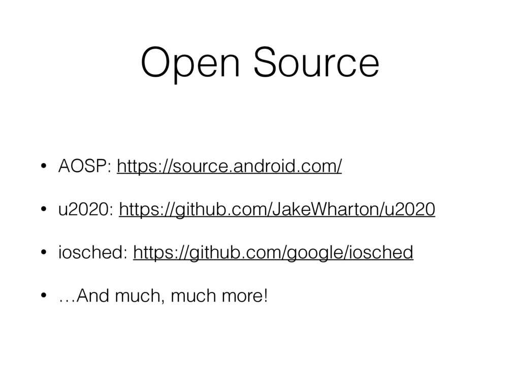 Open Source • AOSP: https://source.android.com/...