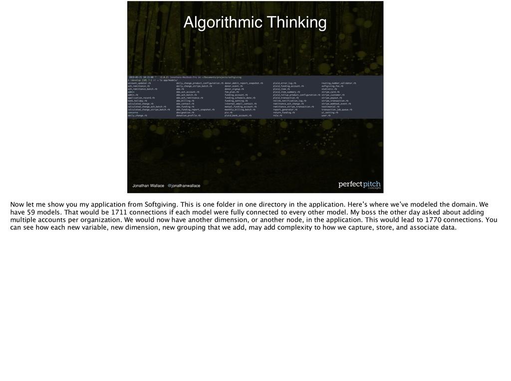 Jonathan Wallace @jonathanwallace Algorithmic T...