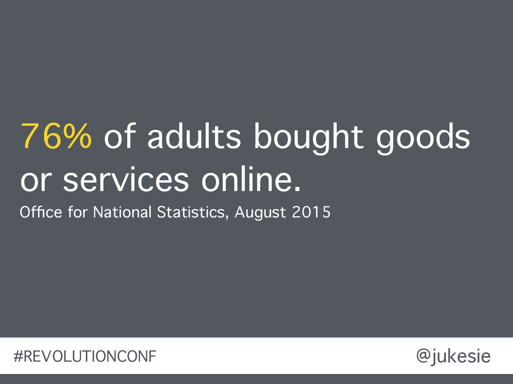 @jukesie 76% of adults bought goods or services...