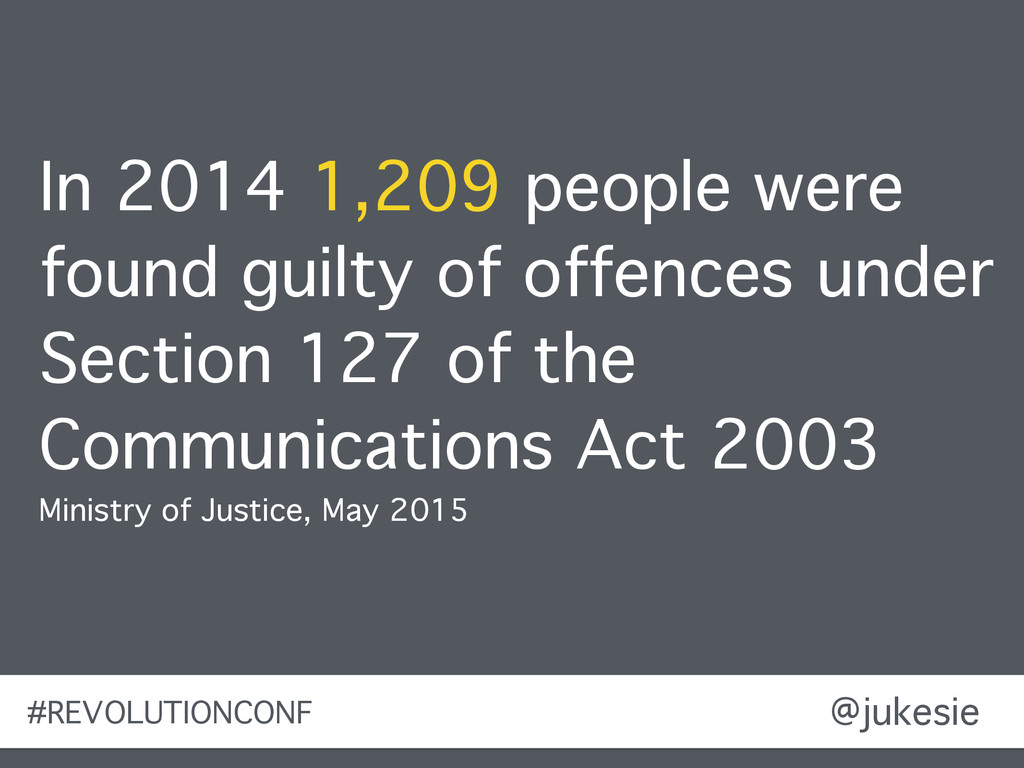 @jukesie In 2014 1,209 people were found guilty...