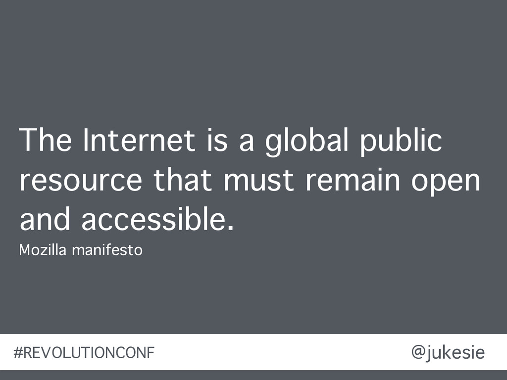 @jukesie The Internet is a global public resour...