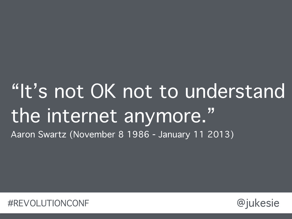 "@jukesie ""It's not OK not to understand the int..."