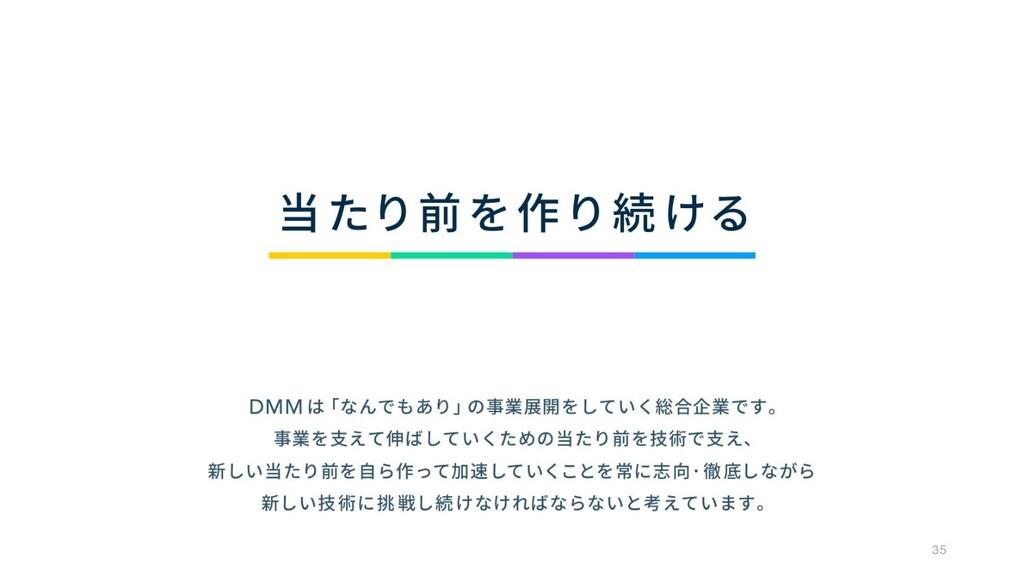 © DMM.com 35