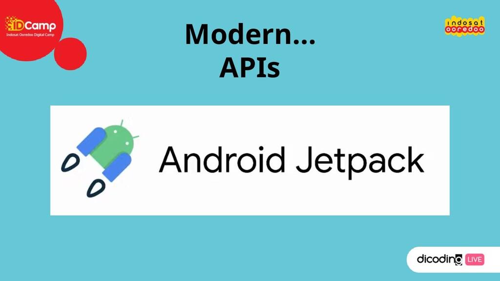 Modern… APIs