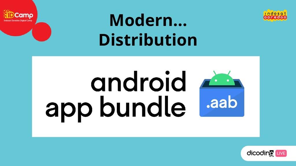 Modern… Distribution