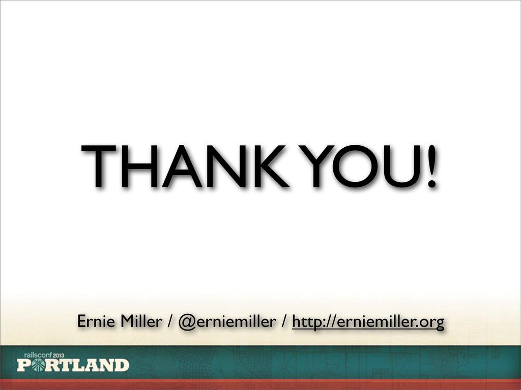 Ernie Miller / @erniemiller / http://erniemille...