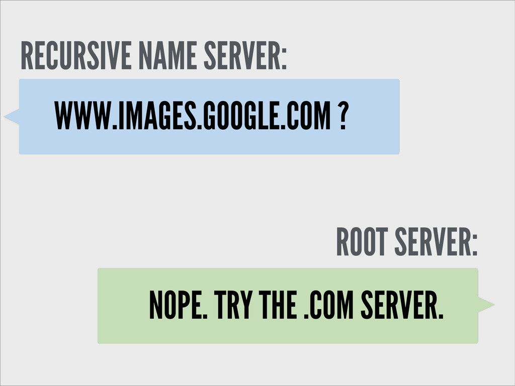 WWW.IMAGES.GOOGLE.COM ? ROOT SERVER: RECURSIVE ...