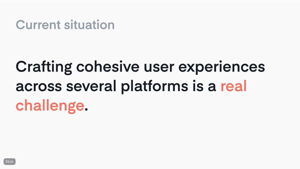 Crafting cohesive user experiences across sever...