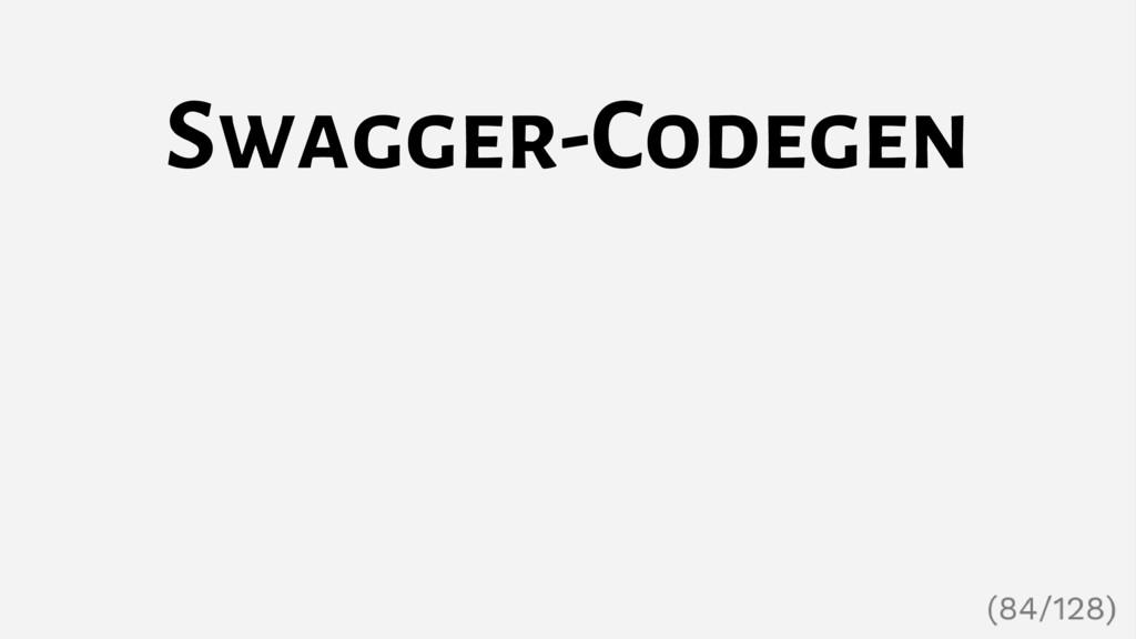 Swagger-Codegen