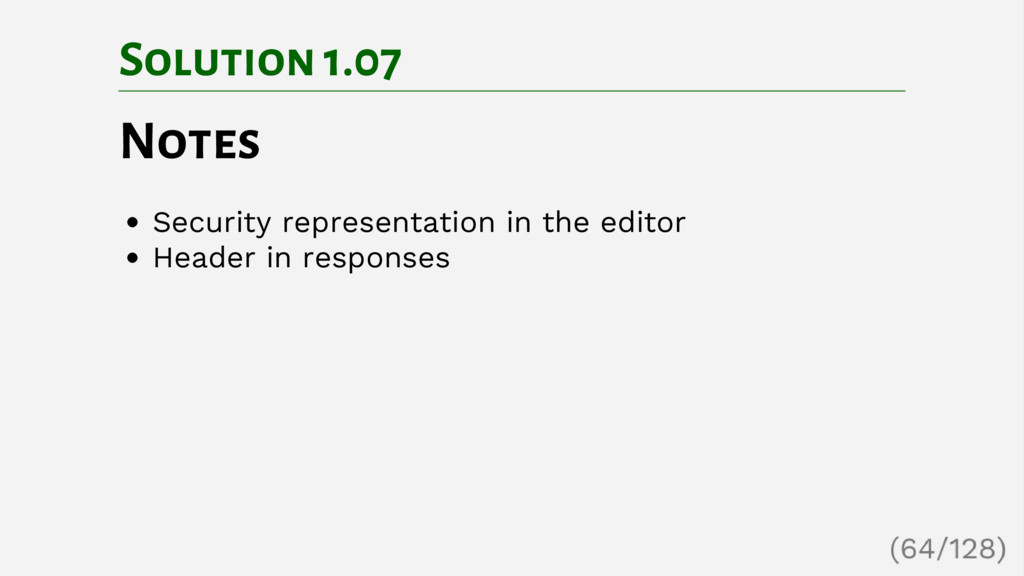 Solution 1.07 Notes Security representation in ...