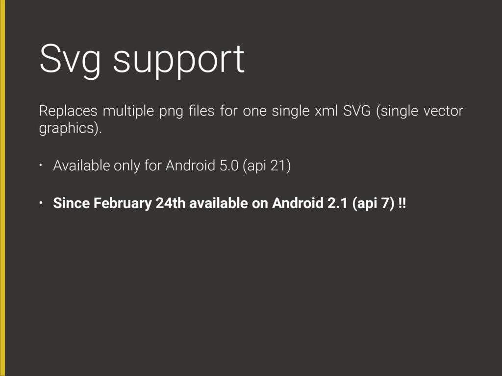Svg support Replaces multiple png files for one ...