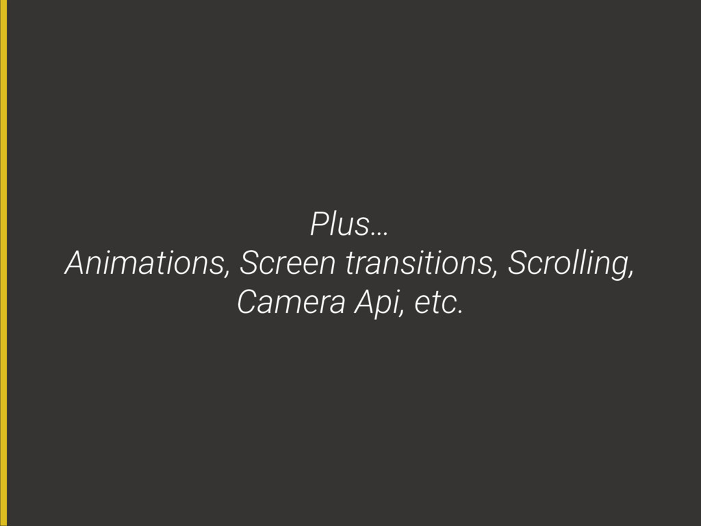 Plus…
