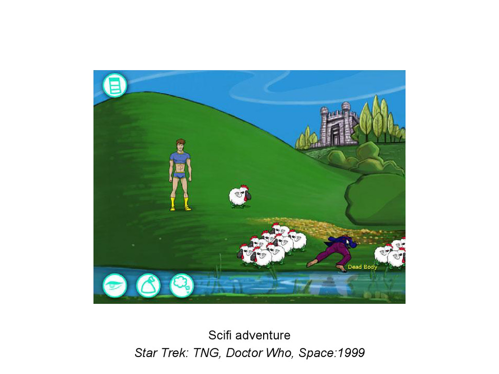 Scifi adventure Star Trek: TNG, Doctor Who, Spa...