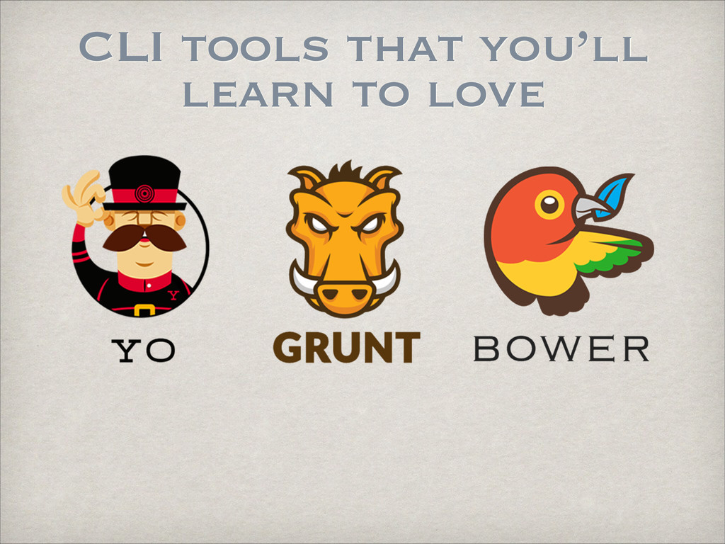 CLI tools that you'll learn to love