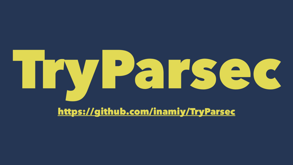 TryParsec https://github.com/inamiy/TryParsec