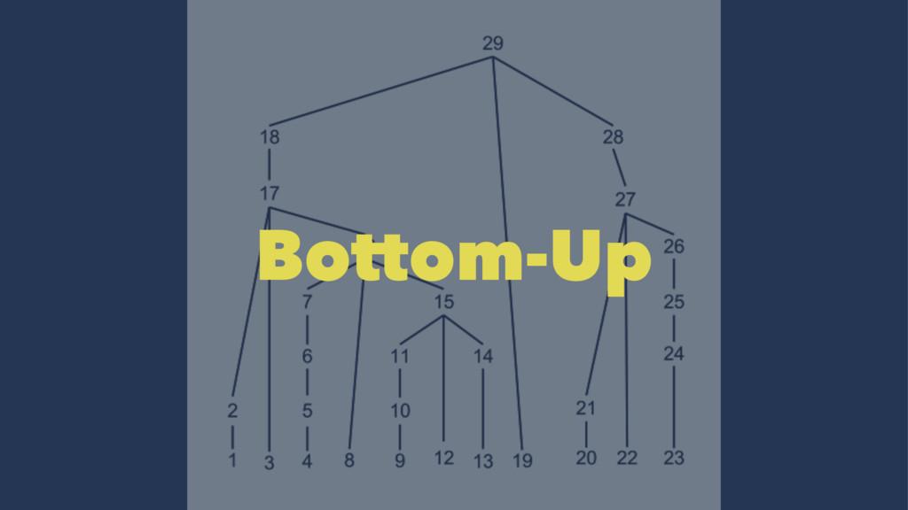 Bottom-Up