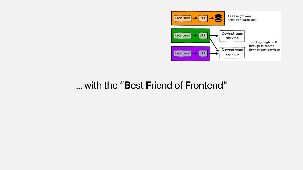 """… with the """"Best Friend of Frontend"""""""