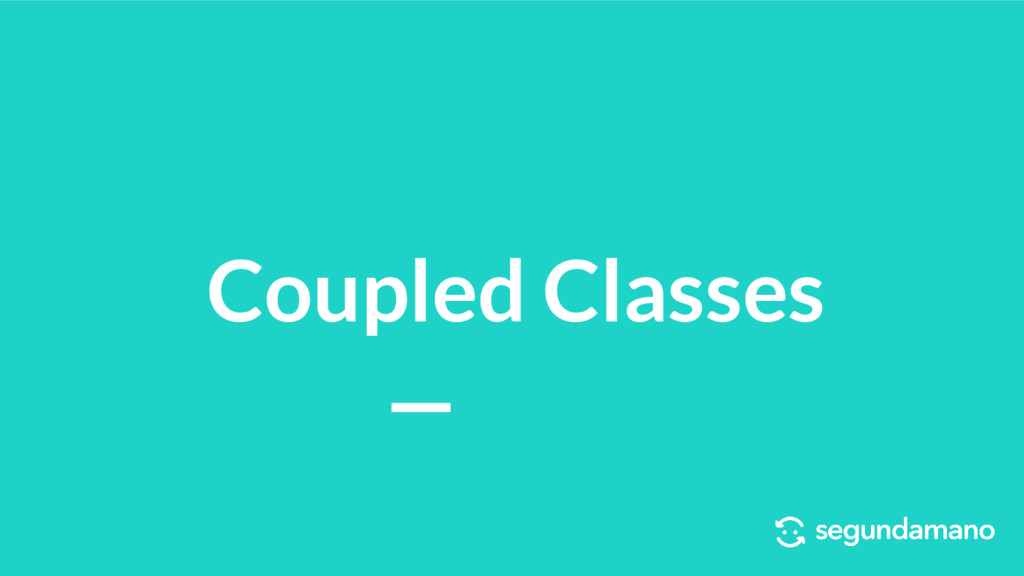 Coupled Classes