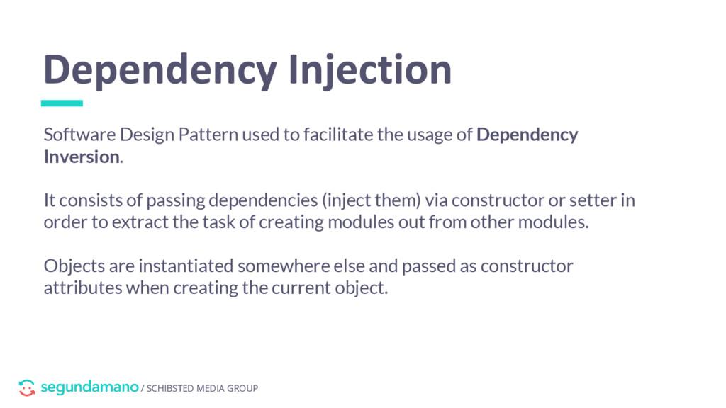 / SCHIBSTED MEDIA GROUP Software Design Pattern...