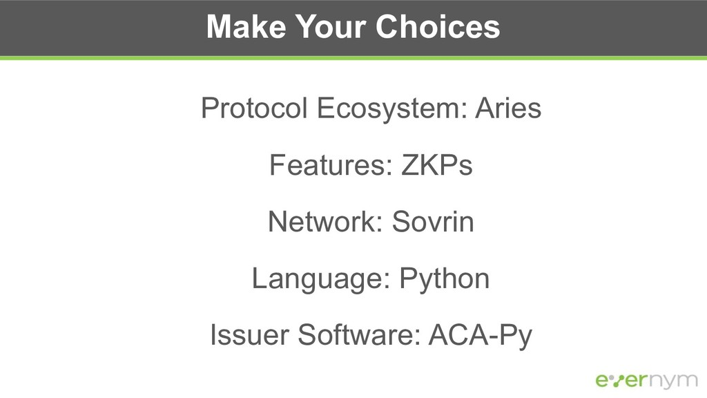 Protocol Ecosystem: Aries Features: ZKPs Networ...