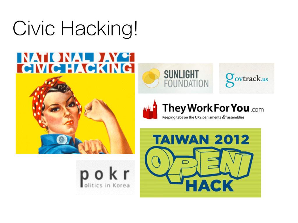 Civic Hacking!