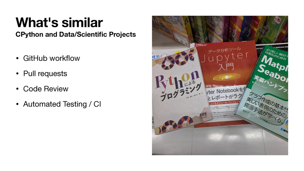 CPython and Data/Scientific Projects • GitHub wo...