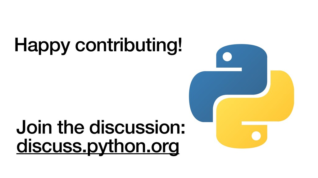 Happy contributing! Join the discussion: discus...