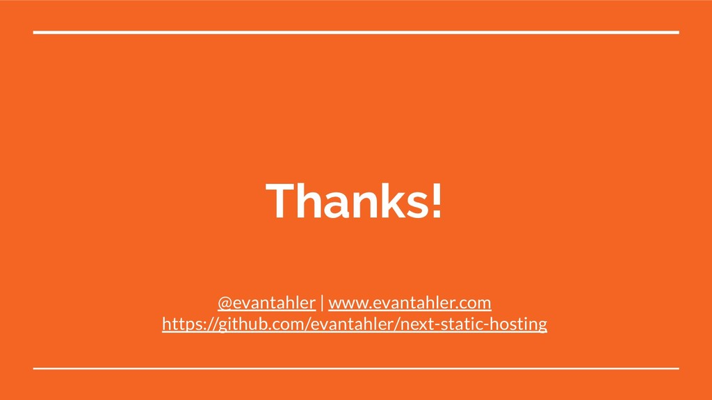 Thanks! @evantahler | www.evantahler.com https:...
