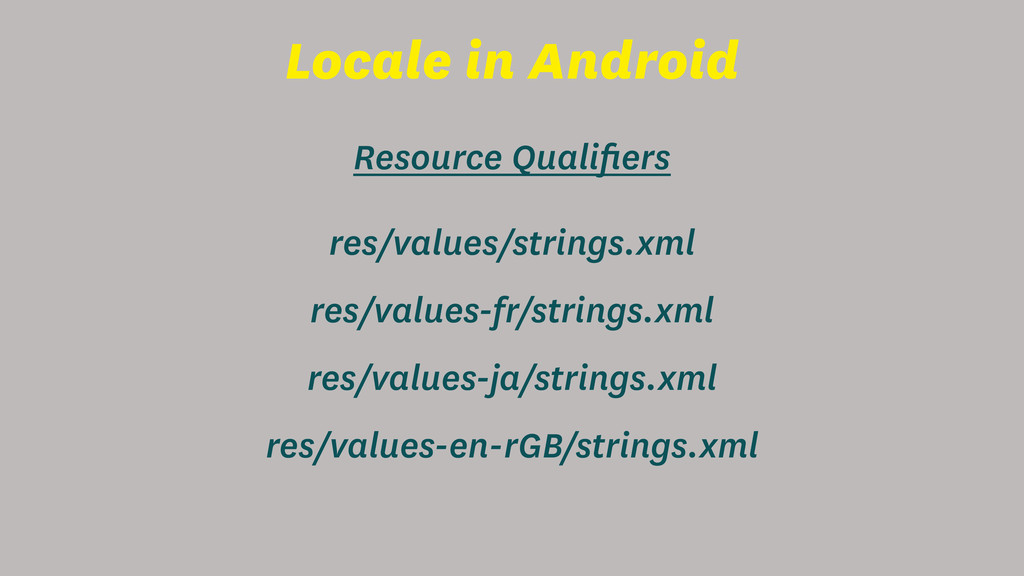 Locale in Android res/values/strings.xml Resour...