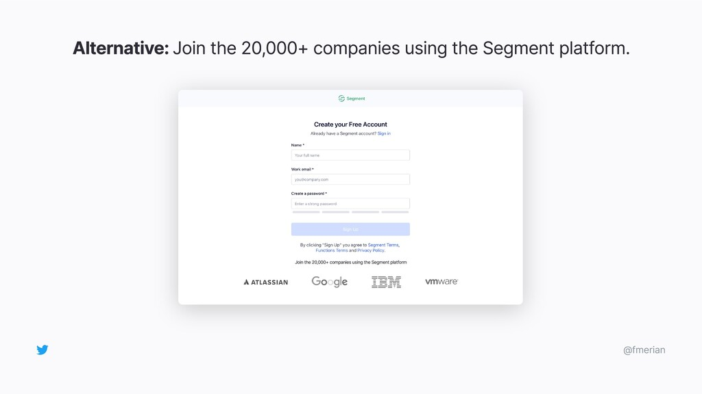 Alternative: Join the 20,000+ companies using t...